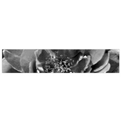 Black And White Rose Flano Scarf (small)