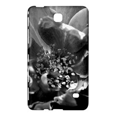 Black and White Rose Samsung Galaxy Tab 4 (8 ) Hardshell Case