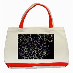 Grapes Classic Tote Bag (red)
