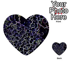Grapes Multi Purpose Cards (heart)
