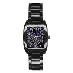 Grapes Stainless Steel Barrel Watch