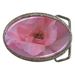 Pink Rose Belt Buckles