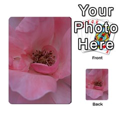 Pink Rose Multi Purpose Cards (rectangle)