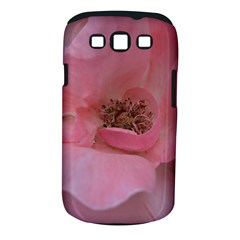 Pink Rose Samsung Galaxy S Iii Classic Hardshell Case (pc+silicone)
