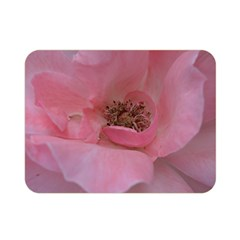 Pink Rose Double Sided Flano Blanket (mini)