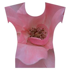 Pink Rose Women s Cap Sleeve Top