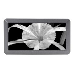 Exotic Black and White Flower 2 Memory Card Reader (Mini)