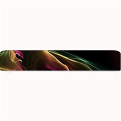 Glowing, Colorful  Abstract Lines Small Bar Mats