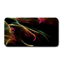 Glowing, Colorful  Abstract Lines Medium Bar Mats