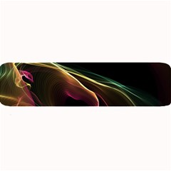 Glowing, Colorful  Abstract Lines Large Bar Mats