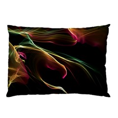 Glowing, Colorful  Abstract Lines Pillow Cases