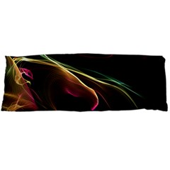 Glowing, Colorful  Abstract Lines Body Pillow Cases (Dakimakura)