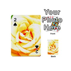 Orange Yellow Rose Playing Cards 54 (Mini)