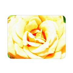 Orange Yellow Rose Double Sided Flano Blanket (mini)