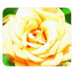 Orange Yellow Rose Double Sided Flano Blanket (Small)