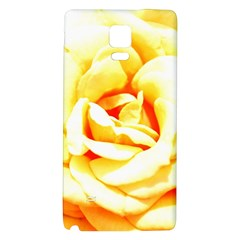 Orange Yellow Rose Galaxy Note 4 Back Case