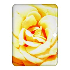 Orange Yellow Rose Samsung Galaxy Tab 4 (10 1 ) Hardshell Case