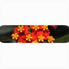 Orange and Red Weed Large Bar Mats