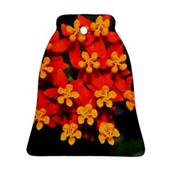 Orange And Red Weed Ornament (bell)
