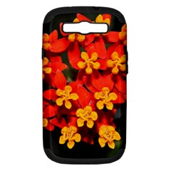 Orange And Red Weed Samsung Galaxy S Iii Hardshell Case (pc+silicone)