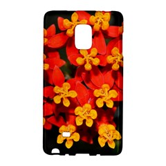 Orange and Red Weed Galaxy Note Edge