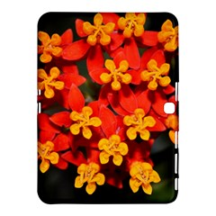 Orange and Red Weed Samsung Galaxy Tab 4 (10.1 ) Hardshell Case