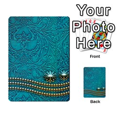 Wonderful Decorative Design With Floral Elements Multi Purpose Cards (rectangle)