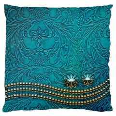 Wonderful Decorative Design With Floral Elements Standard Flano Cushion Cases (two Sides)