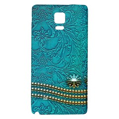 Wonderful Decorative Design With Floral Elements Galaxy Note 4 Back Case