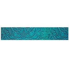 Wonderful Decorative Design With Floral Elements Flano Scarf (large)