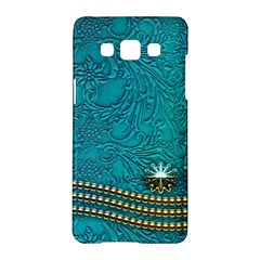 Wonderful Decorative Design With Floral Elements Samsung Galaxy A5 Hardshell Case