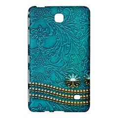Wonderful Decorative Design With Floral Elements Samsung Galaxy Tab 4 (8 ) Hardshell Case