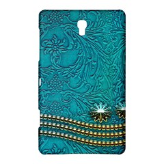 Wonderful Decorative Design With Floral Elements Samsung Galaxy Tab S (8 4 ) Hardshell Case