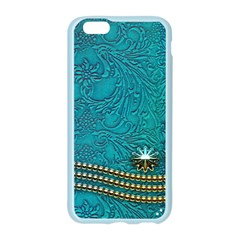 Wonderful Decorative Design With Floral Elements Apple Seamless iPhone 6 Case (Color)