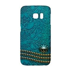 Wonderful Decorative Design With Floral Elements Galaxy S6 Edge