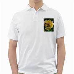 Colorful Flowers Golf Shirts