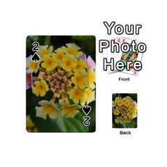 Colorful Flowers Playing Cards 54 (Mini)