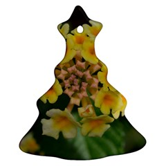 Colorful Flowers Christmas Tree Ornament (2 Sides)