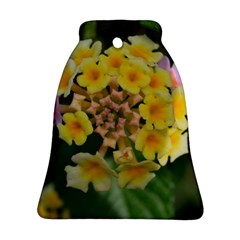 Colorful Flowers Bell Ornament (2 Sides)