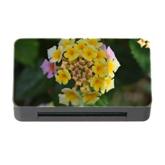 Colorful Flowers Memory Card Reader with CF