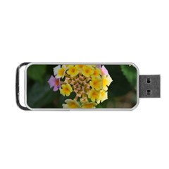 Colorful Flowers Portable USB Flash (Two Sides)