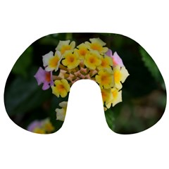 Colorful Flowers Travel Neck Pillows
