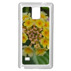 Colorful Flowers Samsung Galaxy Note 4 Case (white)