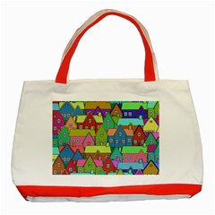 House 001 Classic Tote Bag (red)