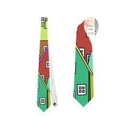 House 001 Neckties (One Side)