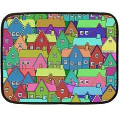 House 001 Fleece Blanket (Mini)