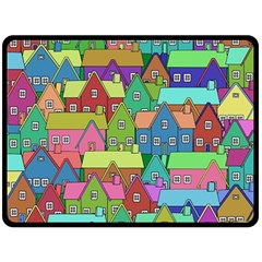 House 001 Fleece Blanket (large)