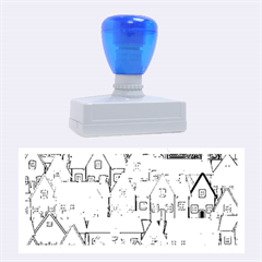 House 001 Rubber Stamps (Large)