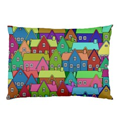 House 001 Pillow Cases (two Sides)