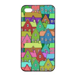 House 001 Apple iPhone 4/4s Seamless Case (Black)